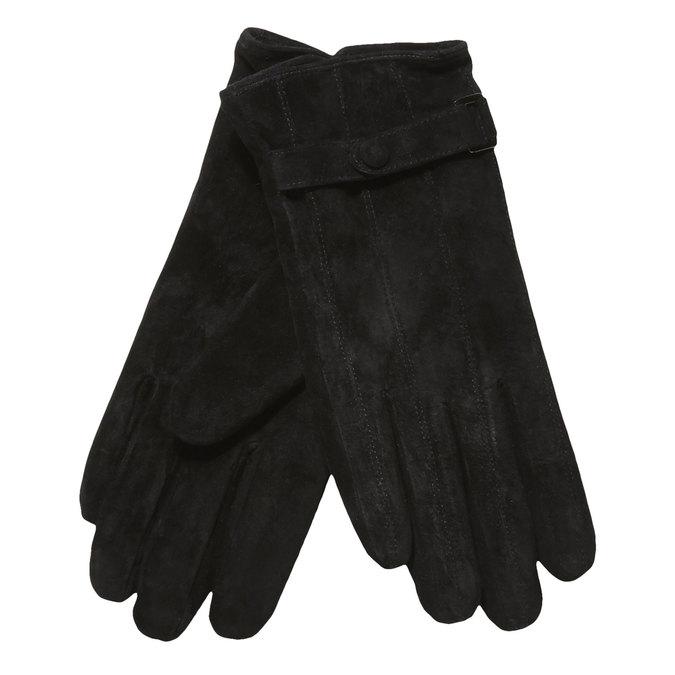 Damen-Lederhandschuhe mit einem Gurt, Schwarz, 903-6100 - 13