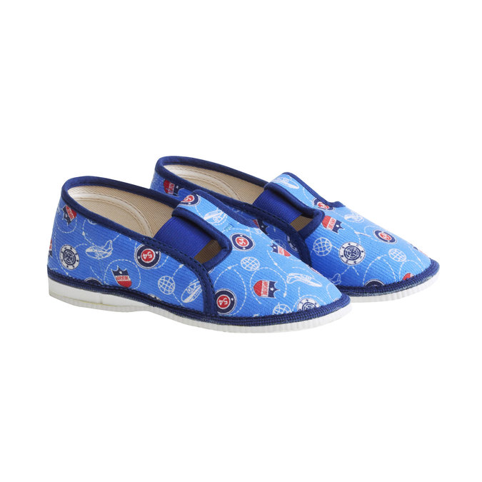 Kinder-Pantoffeln bata, Blau, 179-0105 - 26