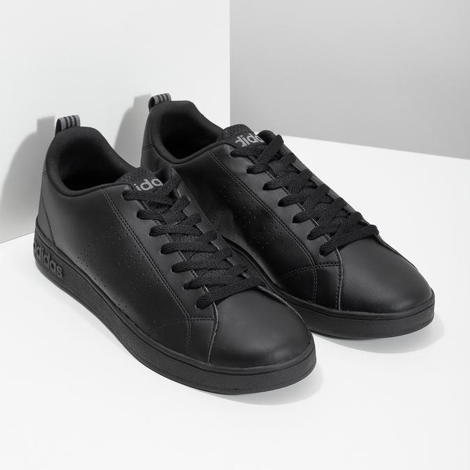 Schwarze Herren-Sneakers adidas, Schwarz, 801-6144 - 26