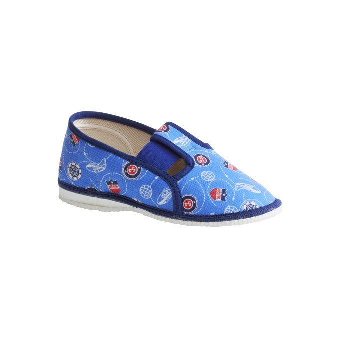 Kinder-Pantoffeln bata, Blau, 179-0105 - 13