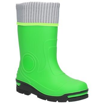 Grüne Gummistiefel für Kinder mini-b, Grűn, 292-7200 - 13