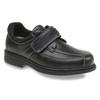Leder-Sneakers bata, Schwarz, 834-6001 - 13