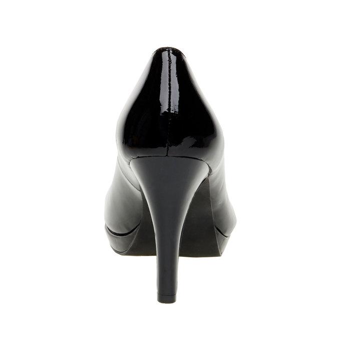 Lackleder-Pumps insolia, Schwarz, 728-6104 - 17