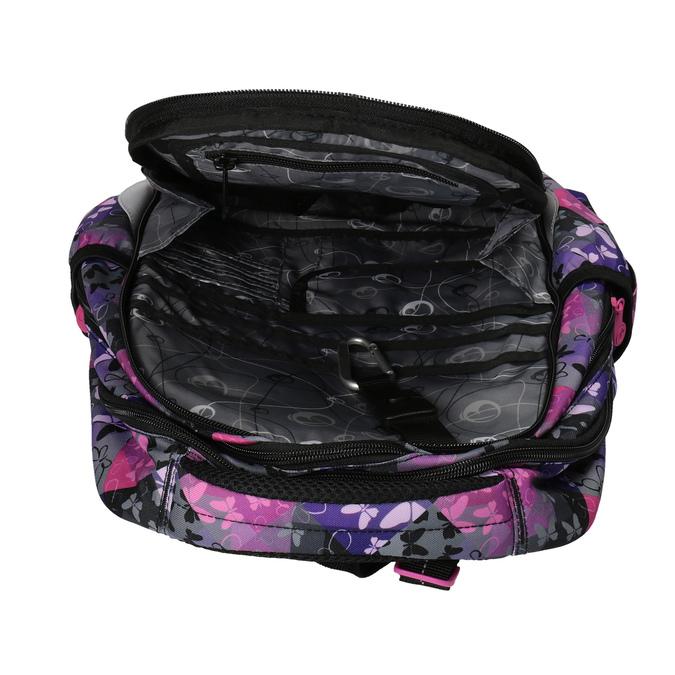 Schulrucksack mit Schmetterlingen bagmaster, Violett, Rosa, 969-5607 - 15