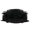 Schwarze Handtasche mit goldenen Details bata, Schwarz, 961-6610 - 15