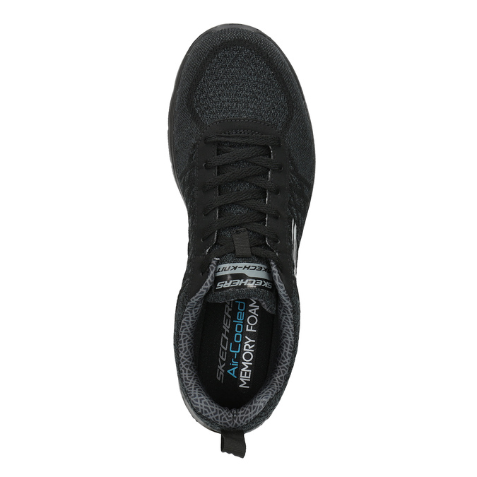 Sportliche Herren-Sneakers skechers, Schwarz, 809-6350 - 19