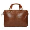 Braune Herrentasche aus Leder bata, Braun, 964-3204 - 19