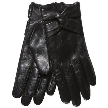 Damen-Lederhandschuhe bata, Schwarz, 904-6109 - 13