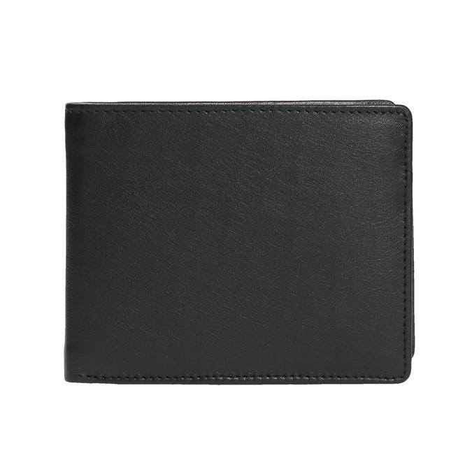 Herren-Geldbörse aus Leder bata, Schwarz, 944-6170 - 26