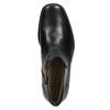 Knöchelschuhe aus Leder mit wärmender Fütterung bata, Schwarz, 894-6641 - 26
