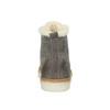 Knöchelhohe Leder-Sneakers mit Kunstpelz weinbrenner, Grau, 596-2627 - 17