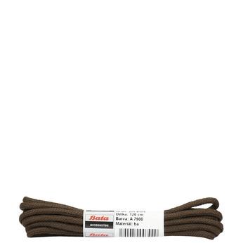 Braune, runde Schnürsenkel, Braun, 901-4124 - 13