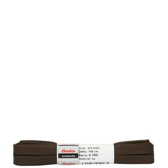 Braune, flache Schnürsenkel bata, Braun, 901-4140 - 13