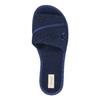 Damen-Hausschuhe mit Schleifchen bata, Blau, 579-9609 - 19
