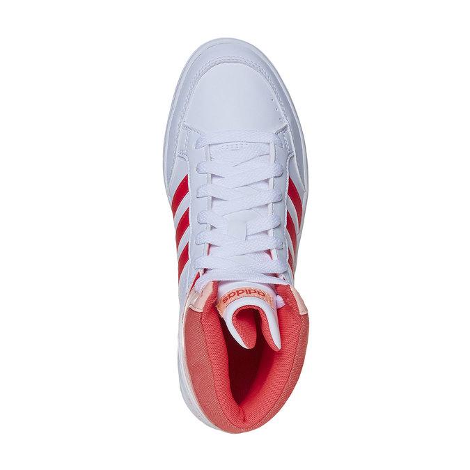 Knöchelhohe Mädchen-Sneakers adidas, Weiss, 401-5253 - 19