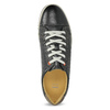 Herren Leder-Sneakers bata, Schwarz, 846-6617 - 17
