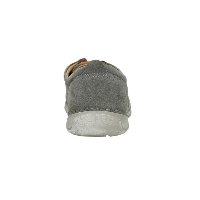 Legere Lederhalbschuhe weinbrenner, Grau, 846-2631 - 17