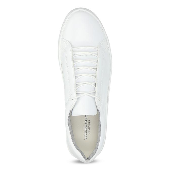 Weisse Sneakers aus Leder vagabond, Weiss, 624-1019 - 17