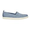 Damen-Lederschuhe mit Perforation bata, Blau, 516-9601 - 15