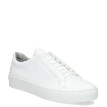 Weisse Sneakers aus Leder vagabond, Weiss, 624-1019 - 13