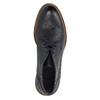 Knöchelschuhe ganz aus Leder bata, Blau, 826-9909 - 19