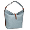 Blaue Handtasche im Hobo-Stil bata, Blau, 961-9705 - 13