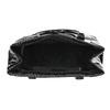 Schwarze Lack-Handtasche bata, Schwarz, 961-6684 - 15