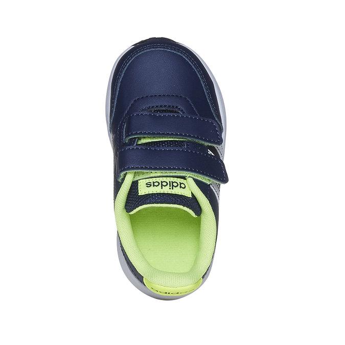 Kinder-Sneakers mit Klettverschluss adidas, Blau, 109-9163 - 19