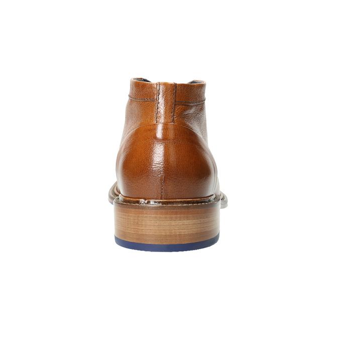 Knöchelschuhe ganz aus Leder bata, Braun, 826-3909 - 17