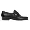 Herren-Loafers aus Leder bata, Schwarz, 814-6621 - 15