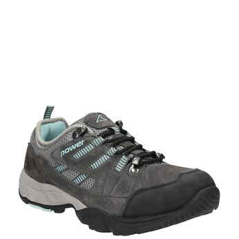 Damen-Outdoor-Schuhe aus Leder power, Grau, 503-2118 - 13