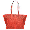 Rote Handtasche mit Perforation gabor-bags, Rot, 961-5080 - 19