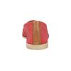 Rote Slip-Ons aus Leder bata, Rot, 516-5602 - 17