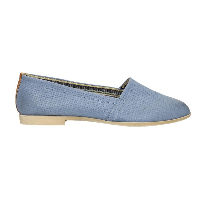 Damen Slip-Ons bata, Blau, 516-9602 - 15