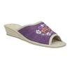 Damenhausschuhe mit Keilabsatz bata, Violett, 679-5620 - 13
