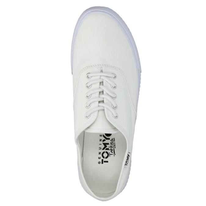 Weisse, legere Sneakers tomy-takkies, Weiss, 889-1227 - 19