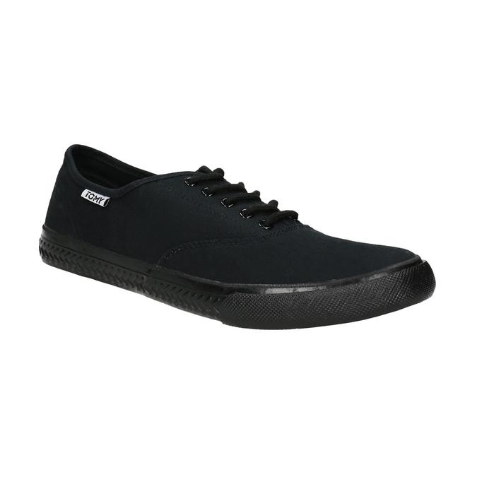 Schwarze Herren-Sneakers tomy-takkies, Schwarz, 889-6227 - 13