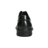 Herren-Lederhalbschuhe mit Steppung, Schwarz, 824-6542 - 17