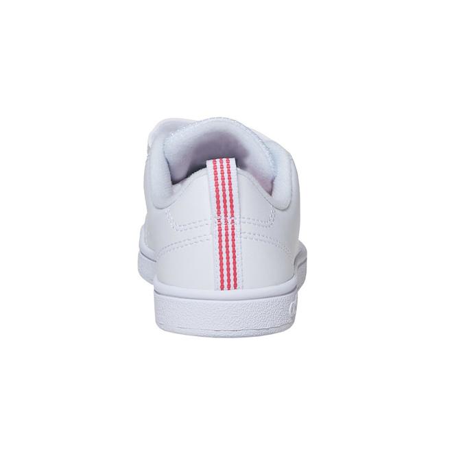Mädchen-Sneakers mit Klettverschluss adidas, Weiss, 301-1268 - 17