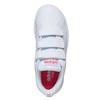 Mädchen-Sneakers mit Klettverschluss adidas, Weiss, 301-1268 - 19