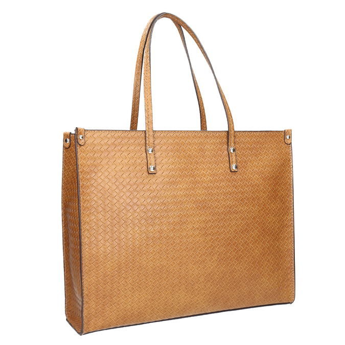 Handtasche mit geflochtenem Muster marie-claire, Braun, 961-3540 - 13