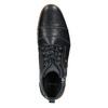 Knöchelschuhe aus Leder mit Reissverschluss bata, Blau, 826-9911 - 26