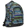 Schulrucksack mit Streifen bagmaster, Blau, 969-9651 - 13