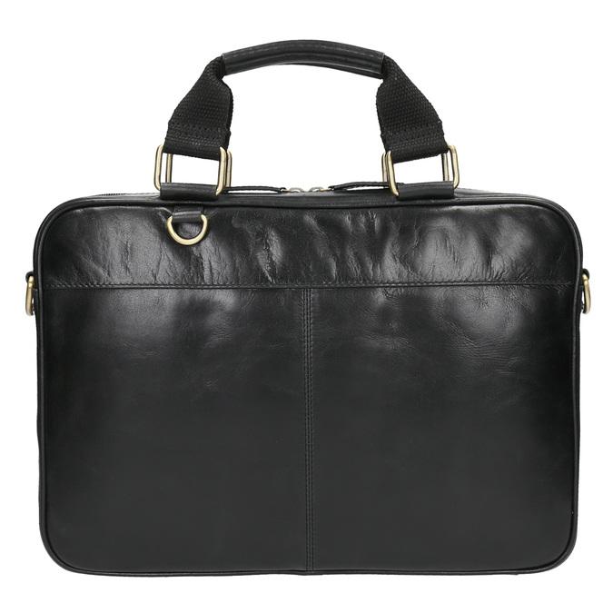 Unisex-Tasche aus Leder bata, Schwarz, 964-6204 - 19