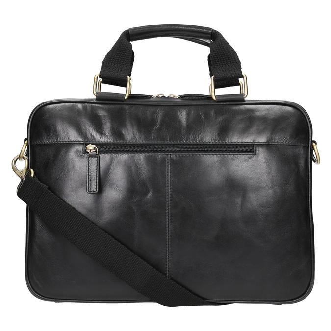 Unisex-Tasche aus Leder bata, Schwarz, 964-6204 - 26