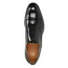 Schwarze Lederhalbschuhe im Oxford-Stil bata, Schwarz, 826-6671 - 15
