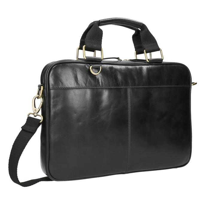 Unisex-Tasche aus Leder bata, Schwarz, 964-6204 - 13
