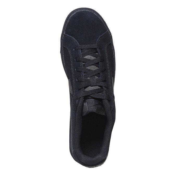 Herren-Sneakers aus Leder nike, Schwarz, 803-6302 - 19