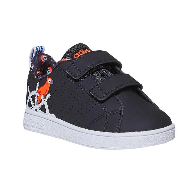 Kinder-Sneakers mit Print adidas, Schwarz, 101-6133 - 13