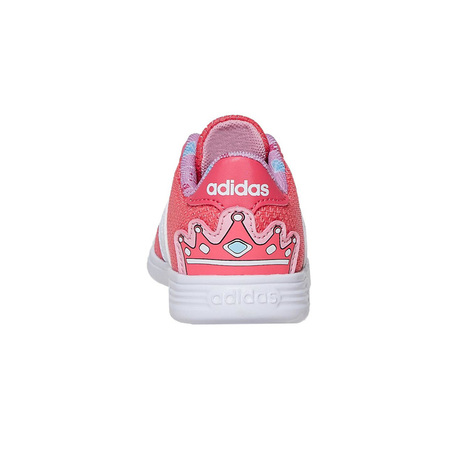 Rosa Mädchen-Sneakers adidas, Rosa, 109-5288 - 17